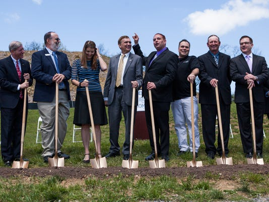 Nexus groundbreaking