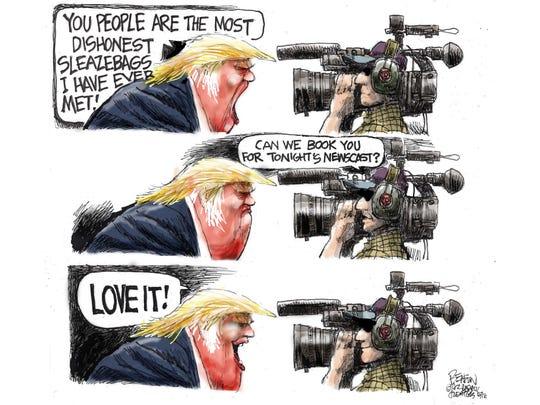 cartoon  for May 2, 2016