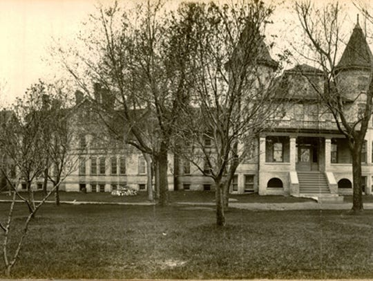 The Sheboygan County Insane Asylum was opened in 1882.