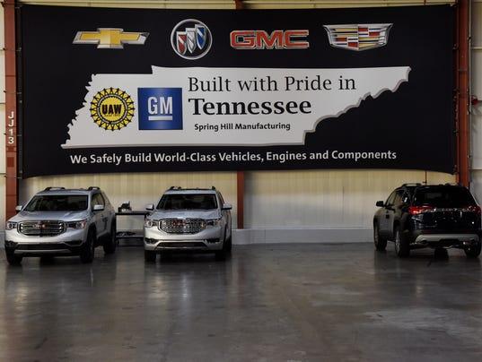 GM, Cadillac, GMC