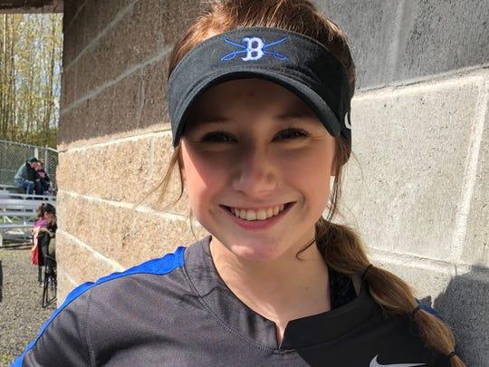 Savannah Barchus, Blanchet softball
