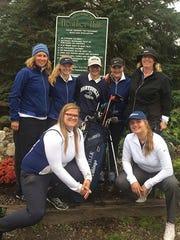 The Marysville High School golf team.