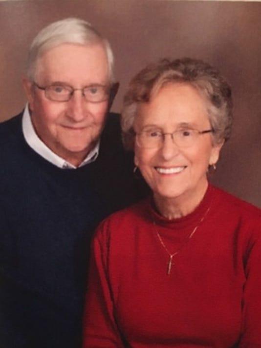 Anniversaries: Tom Buschman & Phyllis Buschman