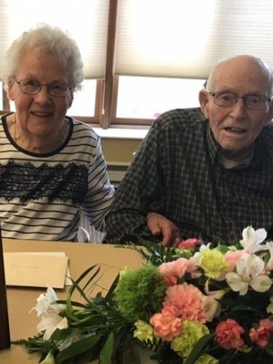 Anniversaries: Oliver Rollag & Arlene Rollag