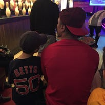 David Price, Mookie Betts face off at bowling fundraiser in Cool Springs
