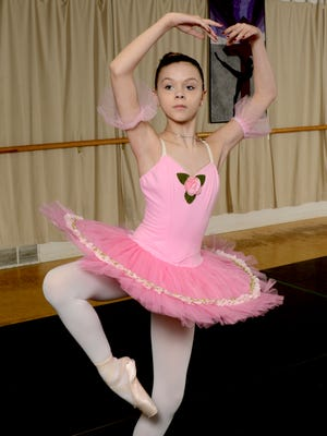 Lexi Utz, 12, from Lancaster, has been taking dance lessons since she was a little more than 2-years-old. This summer she'll be attending a 5-week intensive program at a prestigious ballet school in New York.