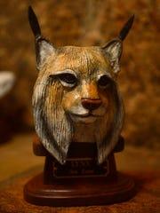 Bronze lynx by Ream.
