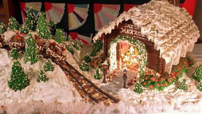 Entries in the gingerbread house contest will be accepted up until 2 p.m., by Dec. 8