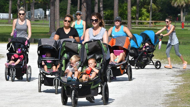Fit4Mom Space Coast is a fun exercise group for prenatal and postnatal moms and their babies and children.
