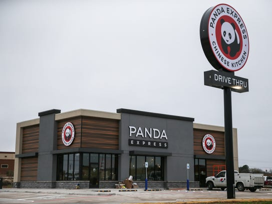 Panda Express located at 5578 Sherwood Way is projected