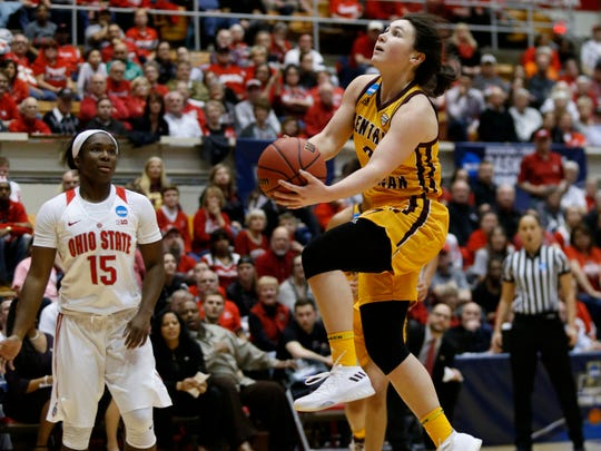 Central Michigan guard Presley Hudson is entering her senior season.