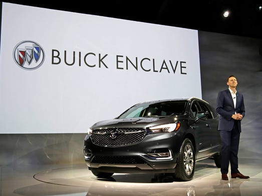 Global Buick Vice President Duncan Aldred introduces