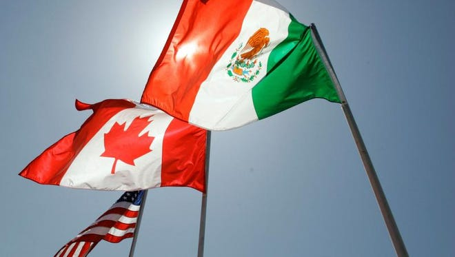 Negotiations between the United States, Mexico and Canada over the future of the North American Free Trade Agreement continue.