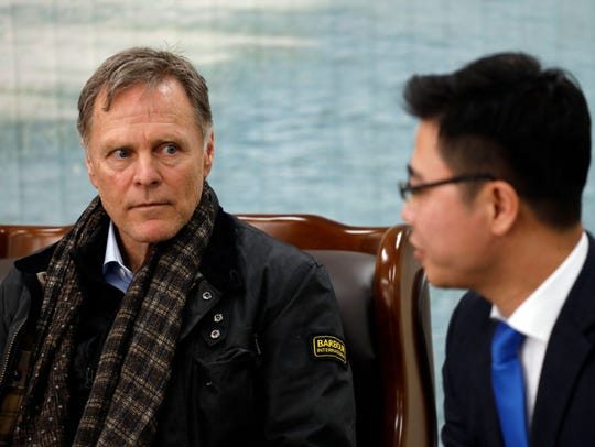 Fred Warmbier, the father of Otto Warmbier who was