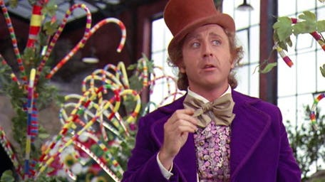 "Milwaukee native Gene Wilder played the title candy man in the 1971 movie ""Willy Wonka and the Chocolate Factory."""