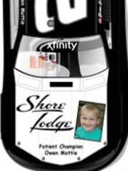 Owen Mottie, 5, will be featured on Brian Scott's car at the Nationwide Children's Hospital 200 on August 15.