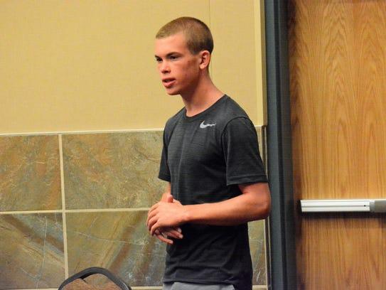 Bloomfield High School soccer and baseball player Nolan