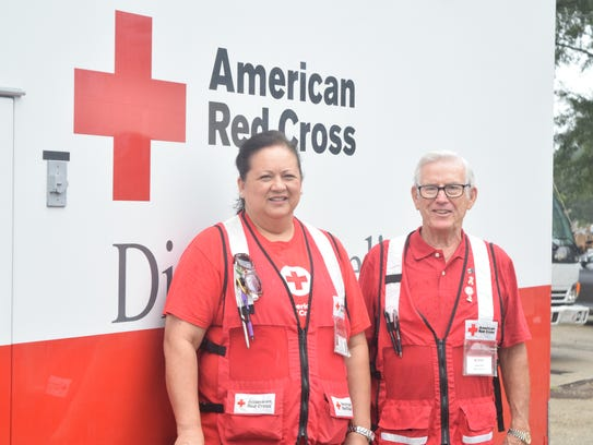 American Red Cross Emergency Response Vehicle drivers