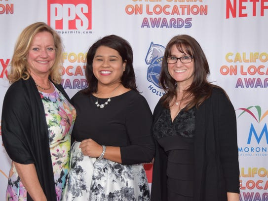 (L to R) Riverside County Film Commissioner Bettina