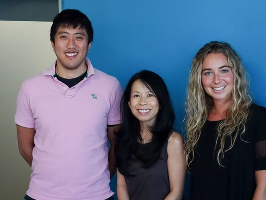 #TalkingTech guests Derek Ting, Eva Ho and Beatrice