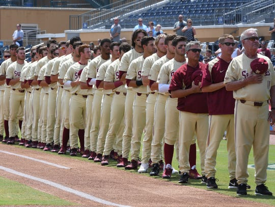FSU head coach Mike Martin and the Seminoles during