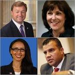 U.S. Senate: How Heller, Rosen, Gazala and Sbaih feel about guns, immigration and more