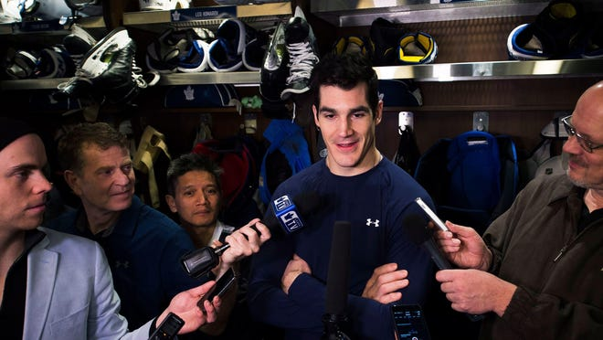 Center Brian Boyle has been diagnosed with chronic myeloid leukemia, a form of bone cancer, but still plans to play in the Devils' regular season opener on Oct. 7.