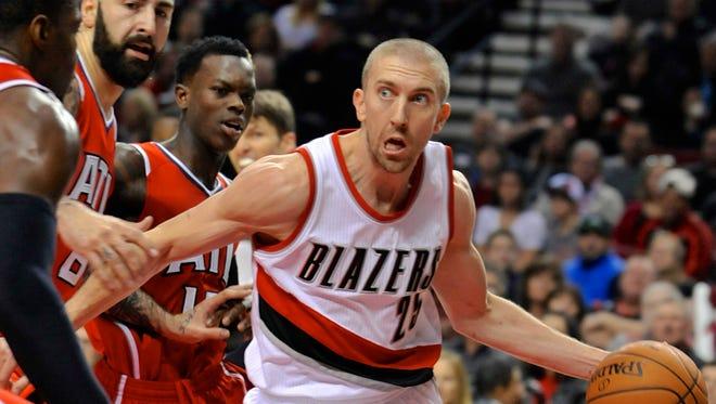 Portland Trail Blazers' Steve Blake (25) on Jan. 3, 2015.