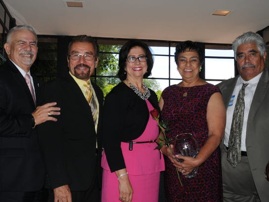 Con el premio Patron of Education Award, Verma Pastor