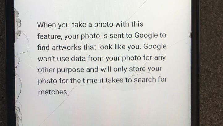 Pokin Around:  I had a hunch Google's Arts & Culture selfie app was a little too much fun