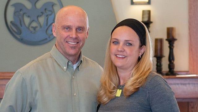 Kurt Hoeven and Charisse Bowen, co-directors of Blue Ocean Enterprises Challenge.
