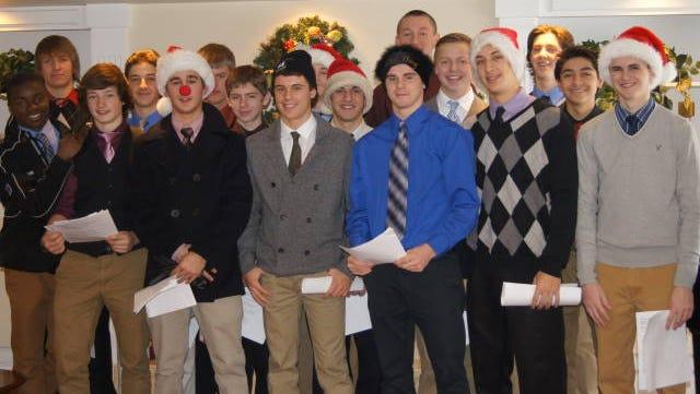 Brockport hockey team.