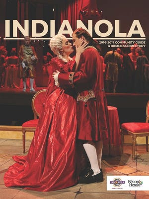 Indianola community guide. Fine the whole book at https://issuu.com/dmregister/docs/indianola_community_guide.2016.