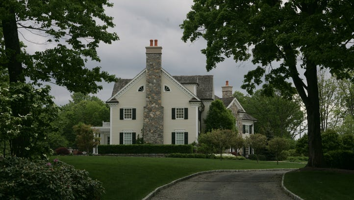 The Franklin Lakes home on Old Mill Road that is owned
