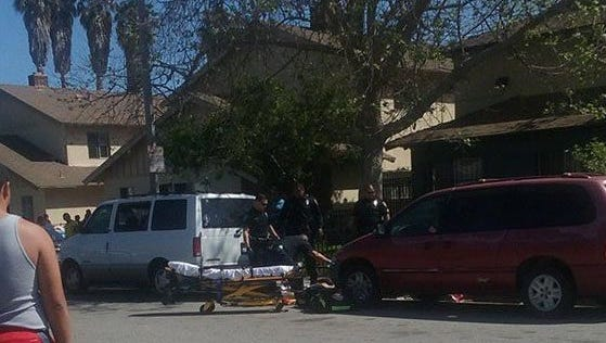Oxnard police and emergency medical crews responded to the shooting of Steven Magallon about 2:15 p.m. on March 26, 2016 in the 300 block of Cuesta Del Mar Drive in Oxnard. Magallon died at a hospital on April 7.