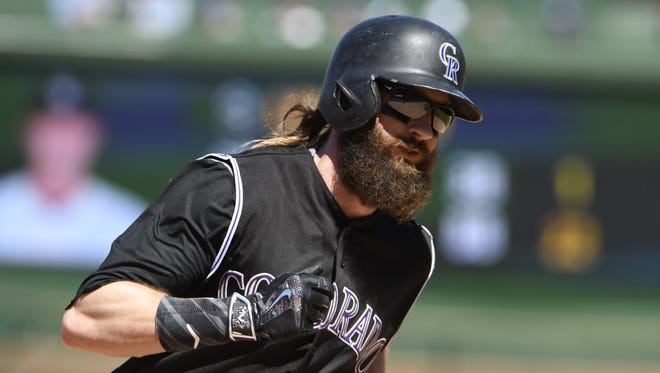 Charlie Blackmon has helped the Colorado Rockies into first place in the NL West.