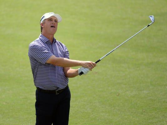 PGA: Wyndham Championship - Second Round