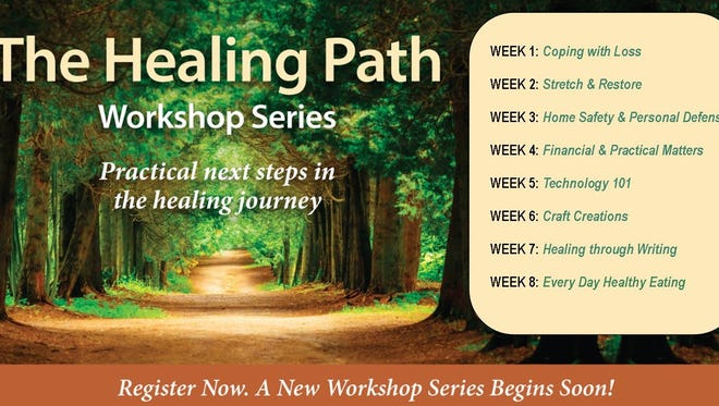 If you are dealing with the grief of losing a loved one, these free workshops may help you.