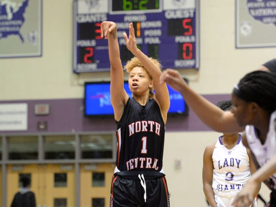 FILE — Rikki Harris led North Central to a MIC title