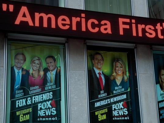 """An advertisement for """"Fox & Friends"""""""