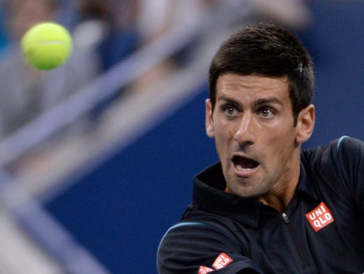 Novak Djokovic was nearly perfect against Joao Sousa in a 6-0, 6-2, 6-0 win.