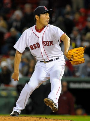 Koji Uehara finished with a 6-5 record and an ERA of 2.52 that was more than twice the previous season's.