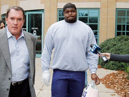 2012-12-09 Josh Brent leaves jail