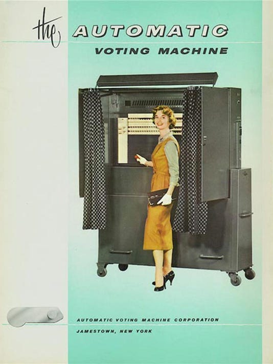 voting machine photo
