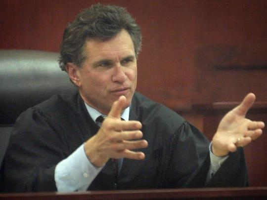 Former Milwaukee County Circuit Judge John Franke, shown in a 2003 file photo.