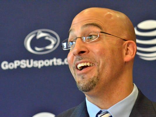 Penn State head football coach James Franklin.