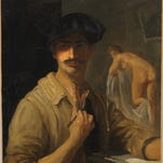 A self portrait of the young Jean Despujols exhibited for the first time in the United States is just one of the unique pieces to be displayed in #exhibit.
