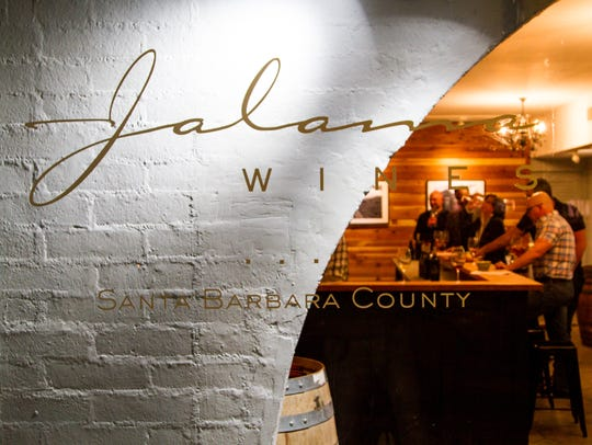 Located in La Plaza, Jalama Wines caters to wine lovers
