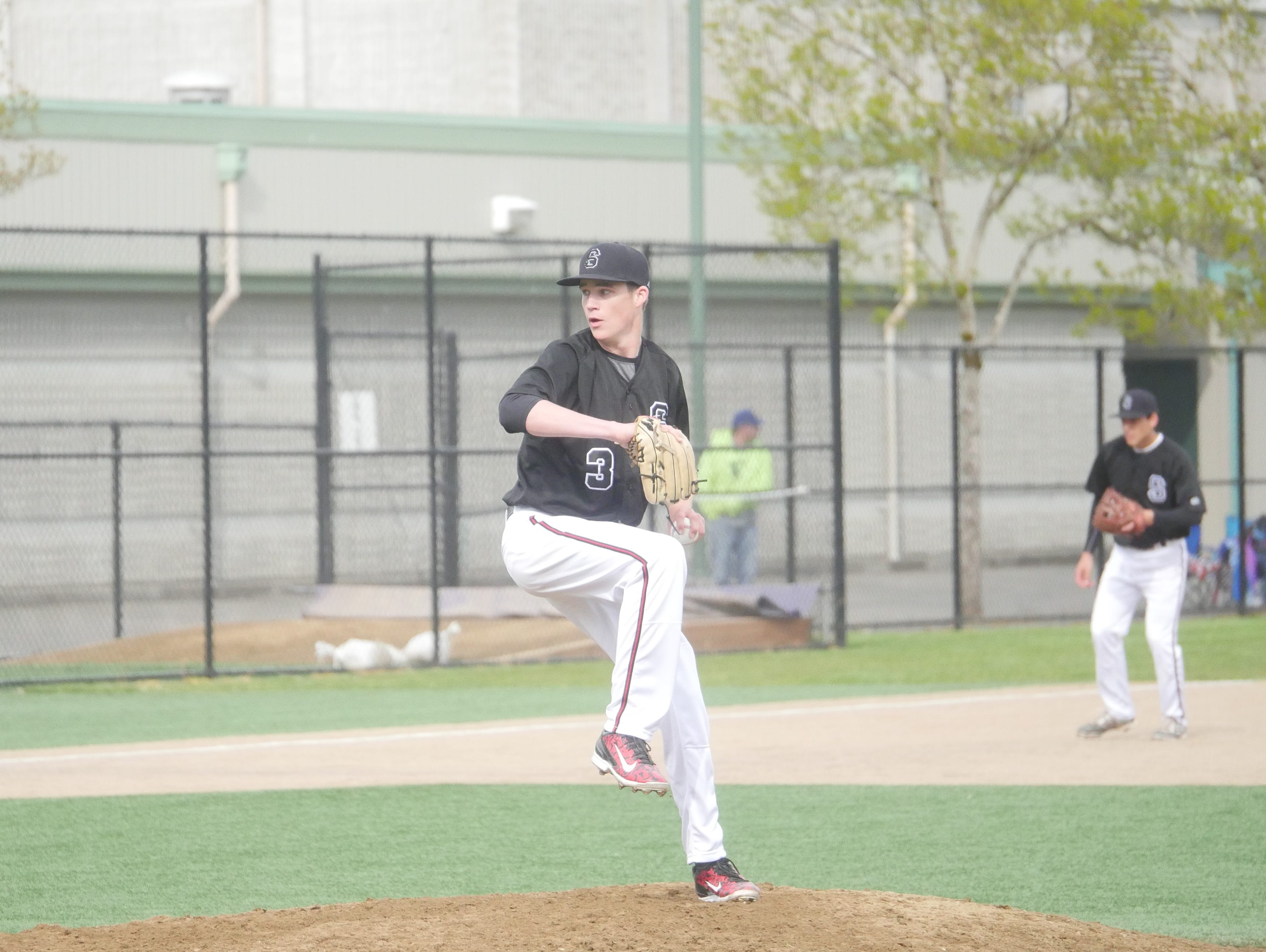 Snohomish pitcher Jake Mulholland tossed a complete game shutout Friday.