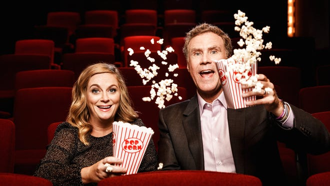 """Amy Poehler and Will Ferrell play a married couple who set up a casino in a friend's basement to help pay for their daughter's college education in 'The House.' Says Poehler: """"Most couples I know make really bad decisions together."""""""